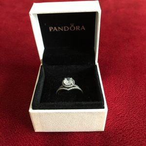 Authentic Pandora Ring set